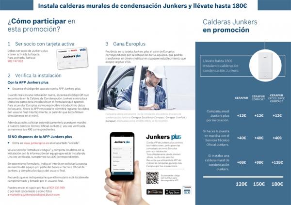 Condiciones Promoción Junkers Plus