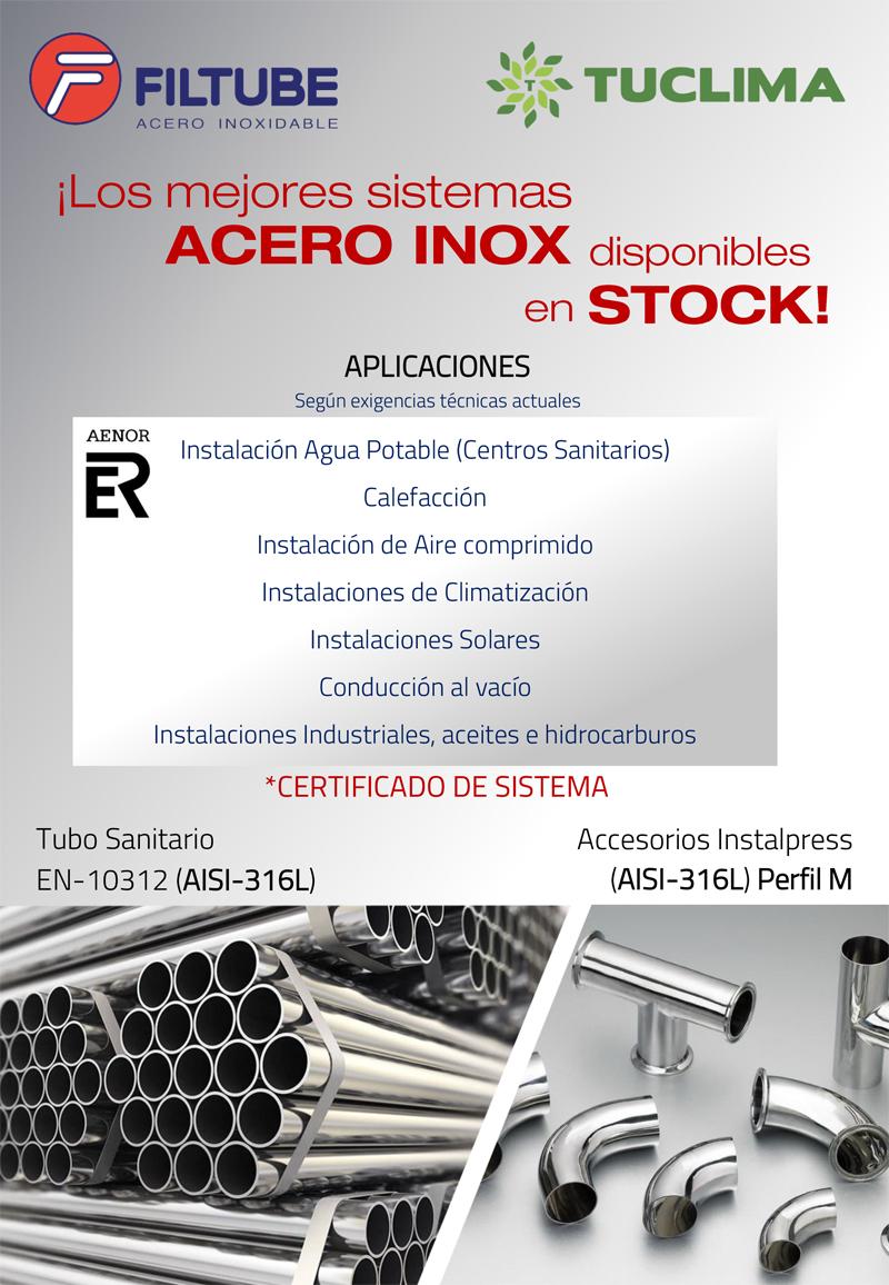 Nuevo sistema Acero Inox