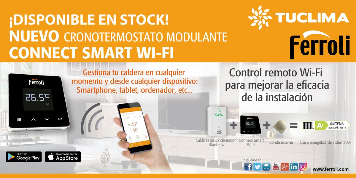 Nuevo Smart Wifi Ferroli en stock!