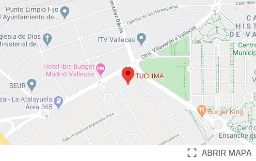 Mapa Localización TuClima