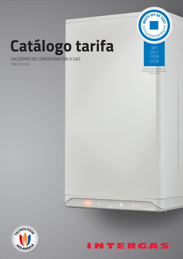 Tarifa Intergas Calefacción 2020