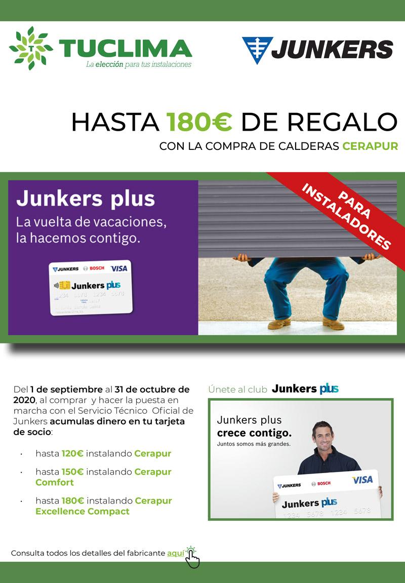 ¡Instalar y ganar con Junkers!