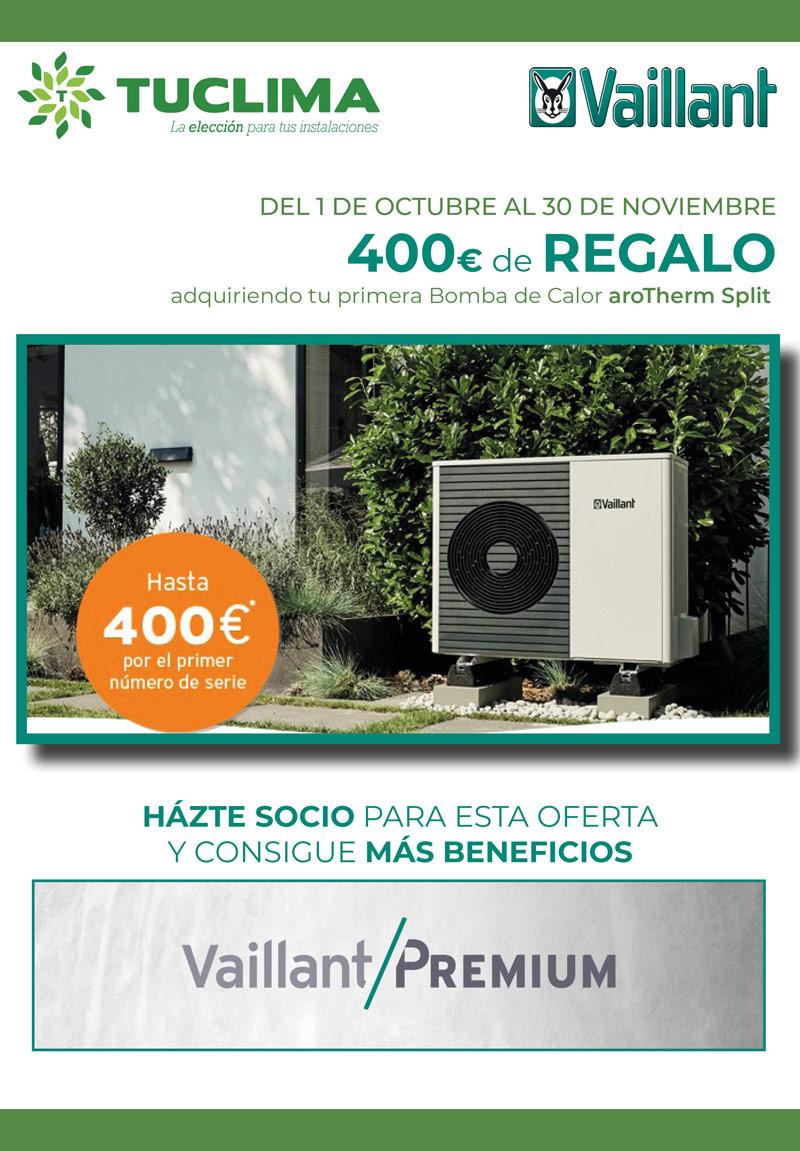 ¡Gana 400€ cuando instalas tu primera Bomba de Calor de última generación!