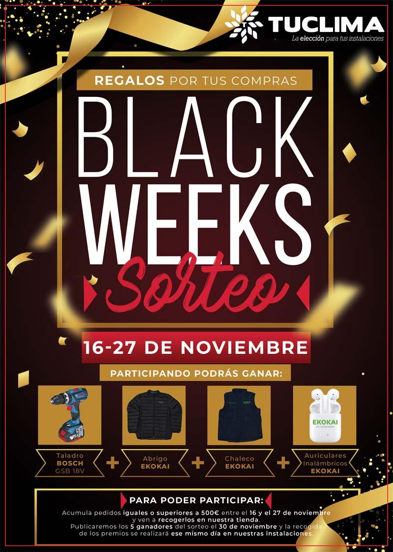 ¡Llegan las Black Weeks llenas de sorpresas!